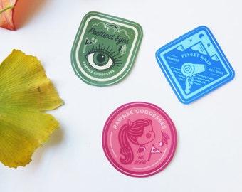 Pawnee Goddesses Stickers