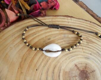 Fußkettchen  seashell bracelet  Fußkettchen leg bracelet Armband natürlichen  -Armband, böhmische Armband