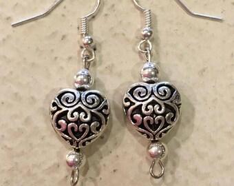 Romance Heart Earrings