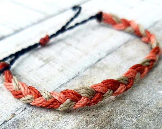 Multi Color Braided Bracelet, Choose Your Colors, Adjustable Waterproof Bracelet, Friendship Bracelets