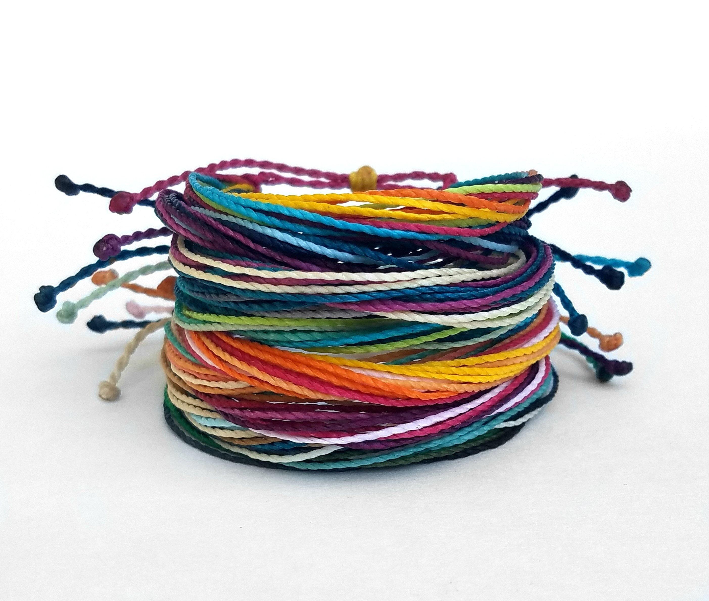 20b180197ca43 Friendship Bracelet Pack, Set of 10 Bracelets, Adjustable String ...