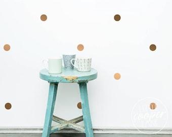 Polka Dots 5cm | VINYL Wall Decals | 2 inch | Peel & Stick | Round Spots Circles Stickers | Baby Boys Girls Nursery Kids Room Décor