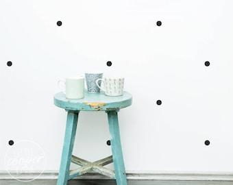Polka Dots 2.5cm   VINYL Wall Decals   1 Inch   Confetti Spots   Round Circles Stickers   Peel & Stick   Boys Girls Baby Nursery Décor