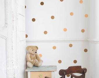 Polka Dots 4cm   VINYL Wall Decals   1.6 Inch Round Spots Circles Stickers   Baby Boys Girls Nursery Kids Room Décor