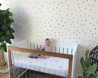 MINI Terrazzo | VINYL Wall Decals | Irregular Polka Dots | Peel & Stick | Hand Drawn Stickers | Children Boys Girls Nursery Décor Kids Room