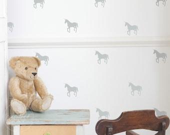 Unicorn   VINYL Wall Decals   Mythical Animal Stickers   8cm (3.1 Inch)   Baby Boys Girls Nursery Kids Room Décor