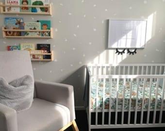 Terrazzo | VINYL Wall Decals | Irregular Polka Dots | Peel & Stick | Hand Drawn Stickers | Children Boys Girls Nursery Décor For Kids Room