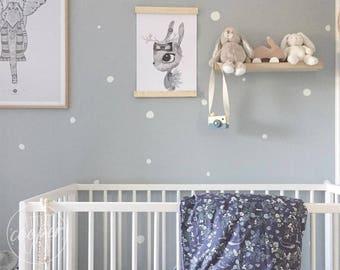 Hand Drawn Polka Dots   VINYL Wall Decals   Irregular Round Spots Stickers   Sets of 165   Baby Nursery Boys & Girls Kids Room Décor