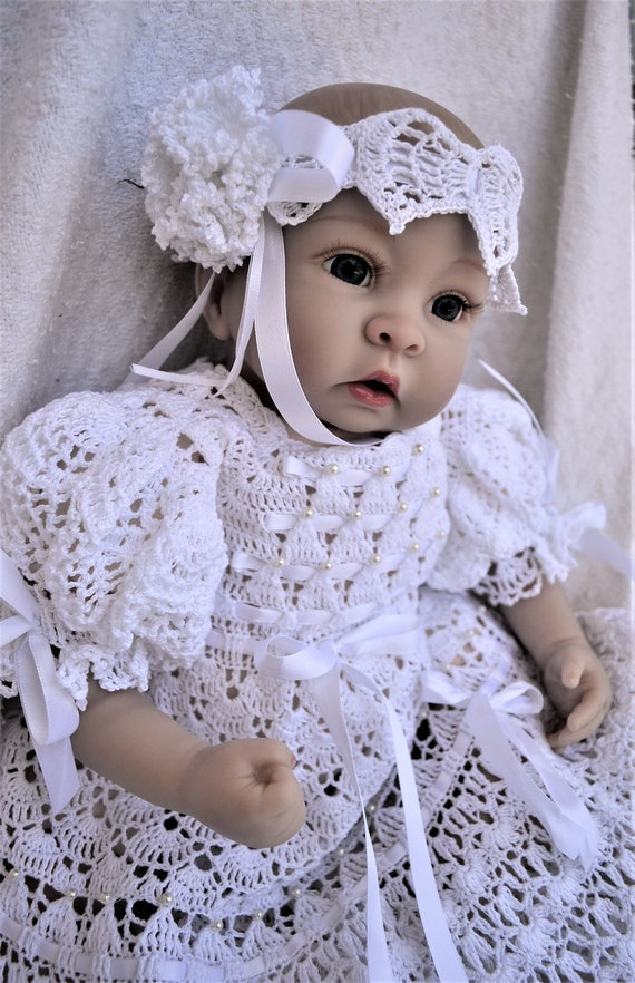 60 Crochet Patterns Of Christening Gowns At A Discount Price Etsy Extraordinary Crochet Christening Gown Pattern