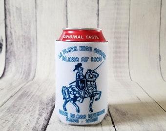 La Plata High School Class of 1968 50th Class Reunion Commemorative Can Cooler/Insulator or Long Neck Bottle Insulator/Cooler