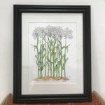 Corn Legs 8x10 Print to hang 4.25x5.5 blank greeting card