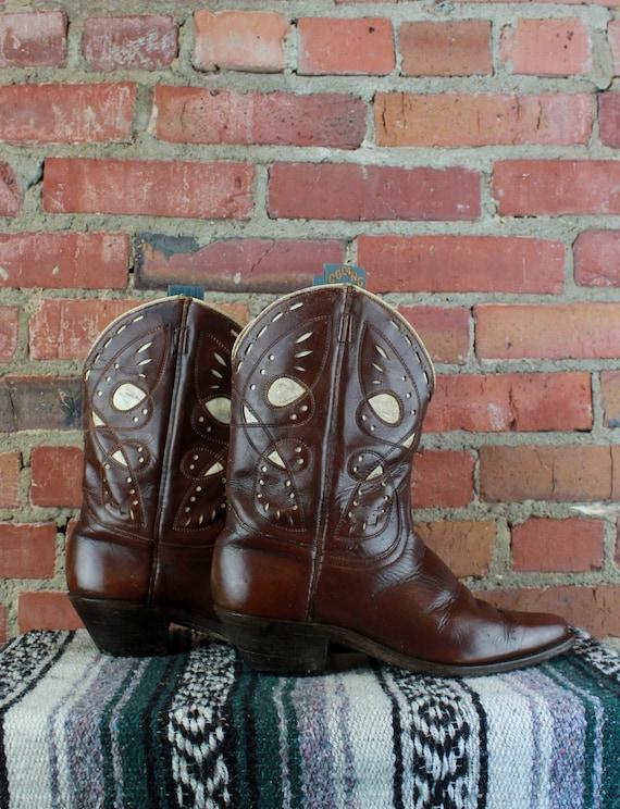 Women's Vintage 40's Gooding Shorty Cowboy Boots B
