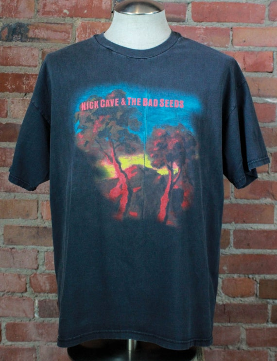 Vintage Nick Cave & The Bad Seeds Concert T Shirt