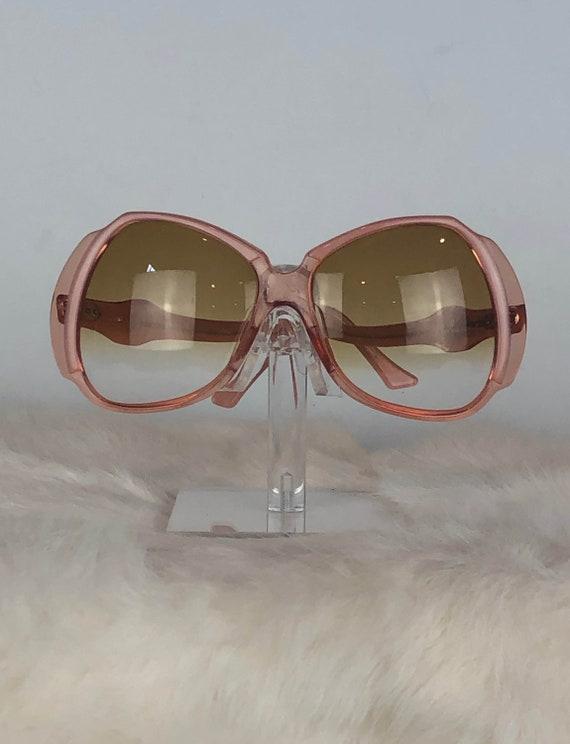 Vintage 60's Emilio Pucci Pink Sunglasses