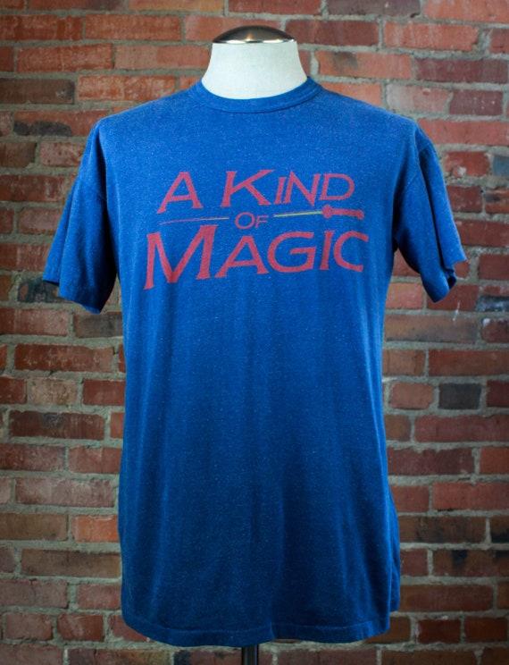 Vintage 1986 Queen Concert T Shirt A Kind Of Magic