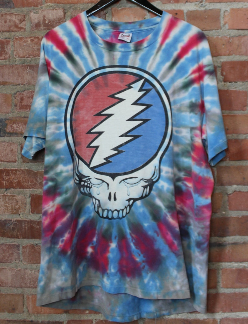 4903c8557abc Vintage Grateful Dead Concert T Shirt Fare Thee Well Jerry | Etsy