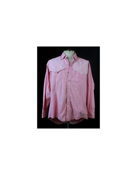 Men's Vintage 90's Rockmount Western Shirt Pearl S