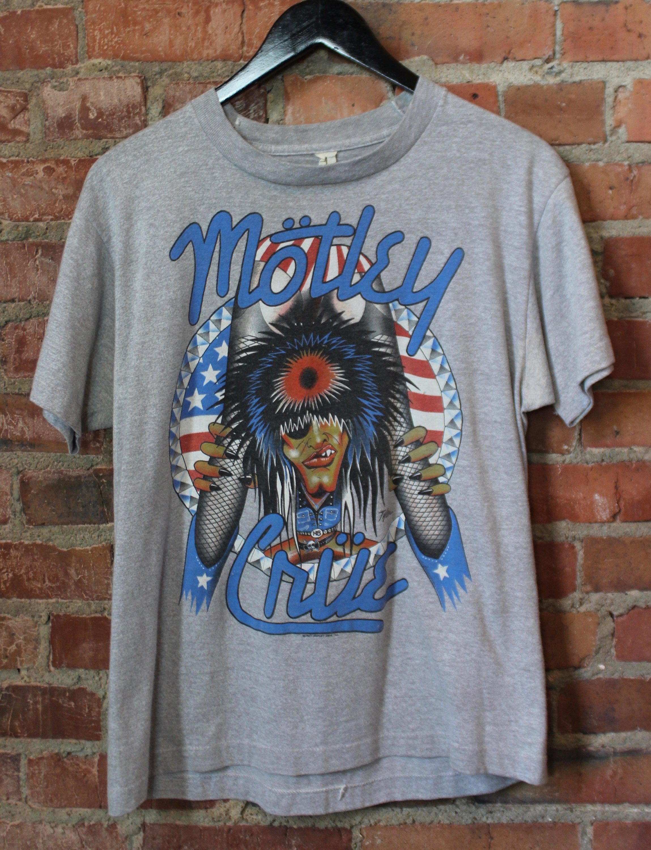 Motley Crue Concert : vintage motley crue concert t shirt girls girls girls 1987 etsy ~ Hamham.info Haus und Dekorationen