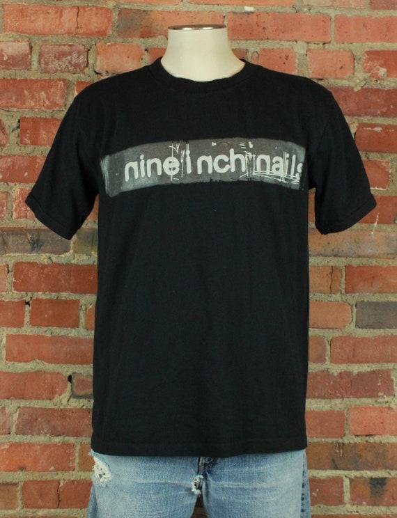 Vintage 1998 Nine Inch Nails Concert T Shirt - Med