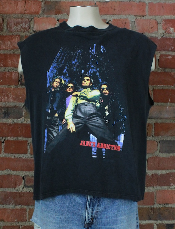 Vintage Janes Addiction Concert T Shirt 1990-91 Ri