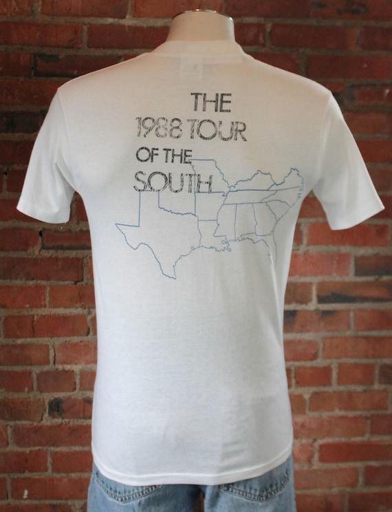 Vintage The Georgia Satellites Concert T Shirt 19… - image 2