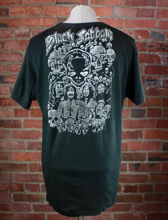 Vintage 70's Black Sabbath Concert T Shirt Double