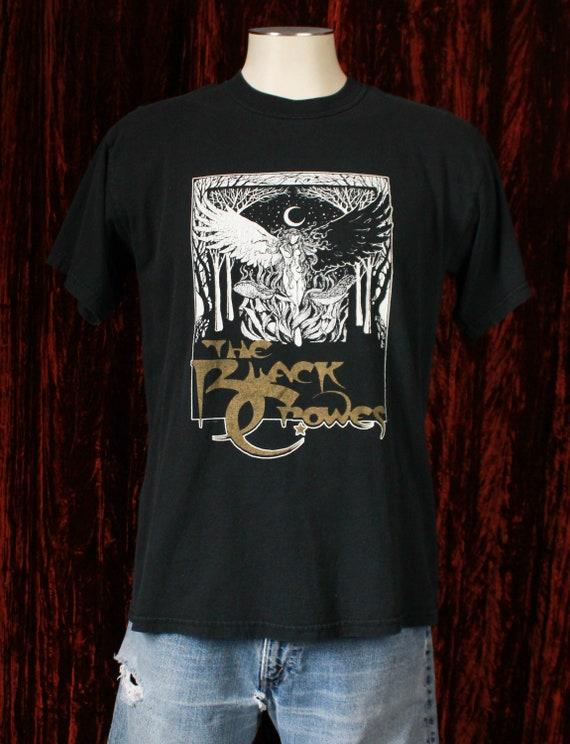 Vintage The Black Crowes Concert T Shirt 90's Free