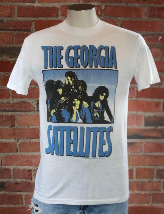 Vintage The Georgia Satellites Concert T Shirt 19… - image 1