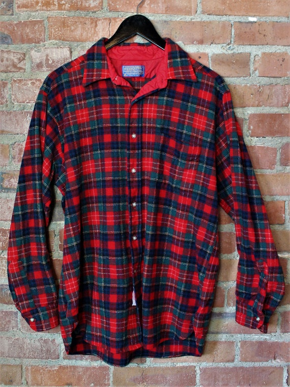 Vintage Pendleton Christie Tartan Flannel Shirt Me