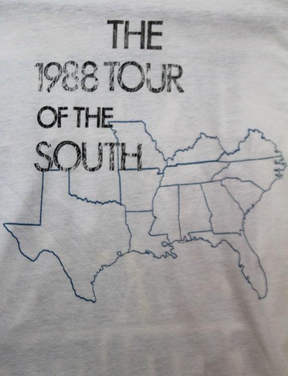 Vintage The Georgia Satellites Concert T Shirt 19… - image 4