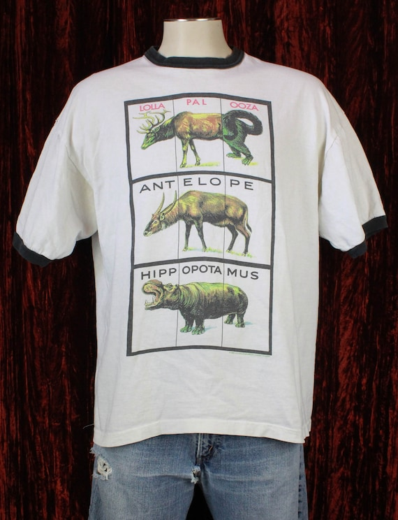 Vintage Lollapalooza Festival Concert T Shirt 1996