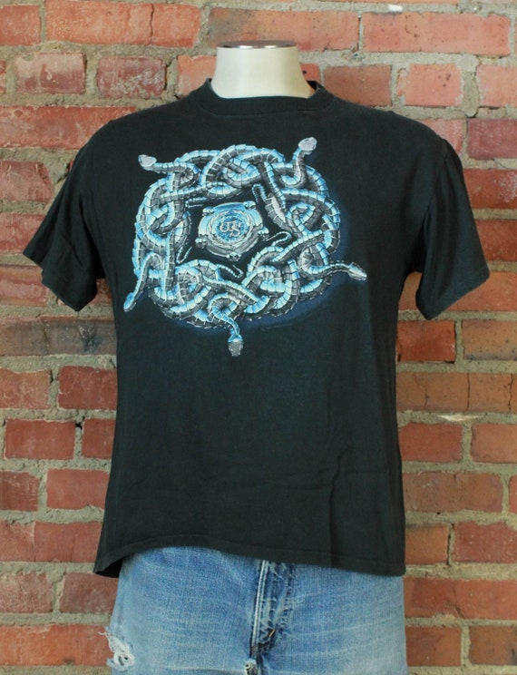 Vintage Whitesnake Concert T Shirt 1990 Tour - Lar