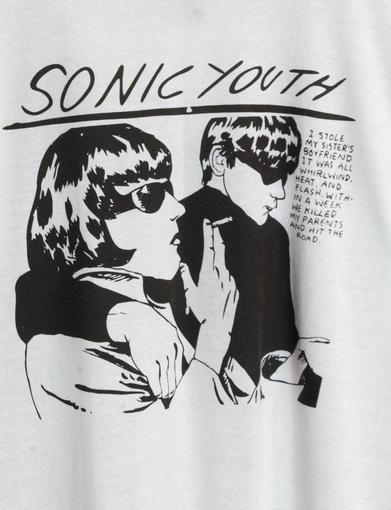 ebc43355 Vintage Sonic Youth Concert T Shirt 80's Deadstock Unisex | Etsy