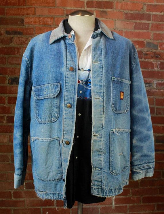 Men's Vintage 80's Big Ben Denim Jacket Chore Coat