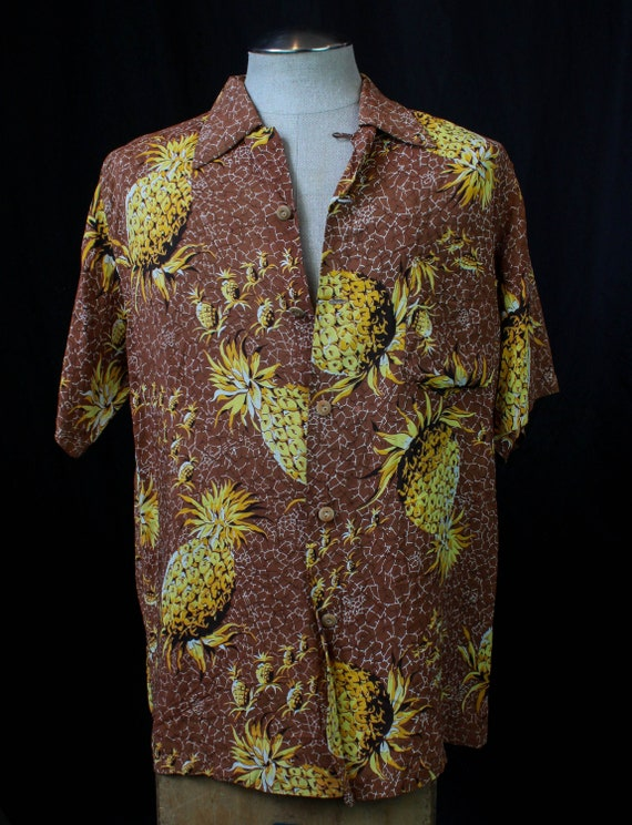 Men's Vintage 50's Watumull's Leilani Aloha Hawaii