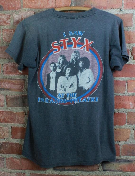 Vintage 1981 STYX Concert T Shirt Paradise Theatre