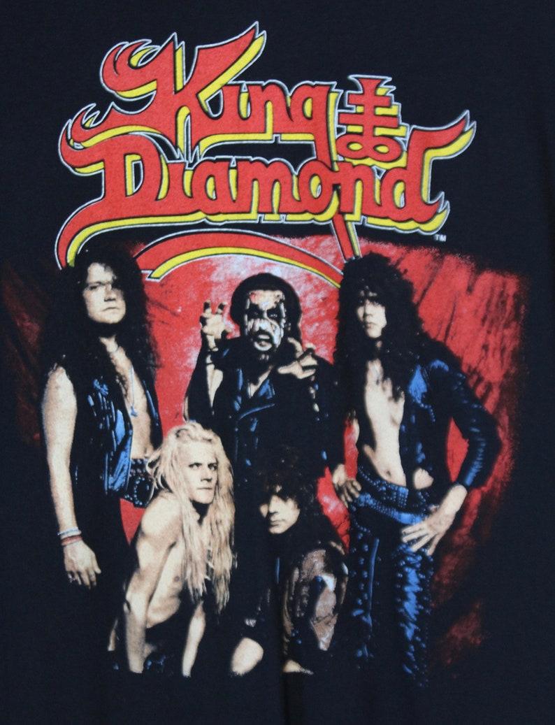 a0cc26c6aeb Vintage King Diamond Concert T Shirt Conspiracy Tour 1989