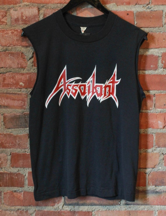 Def Leppard On Tour 1983 Womans Tank Sleep Shirt Heavy Metal Music