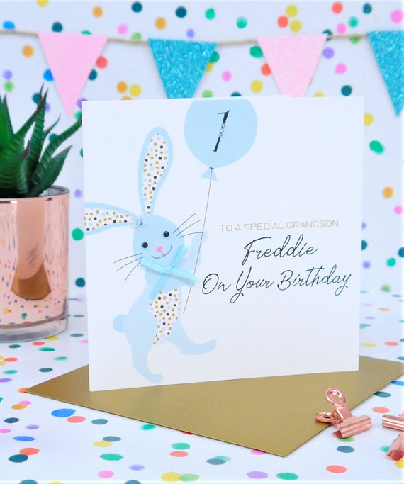 Personalised Handmade Birthday Card 1st2nd3rd4th5th Son