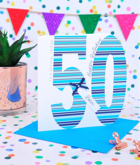 Personalised Handmade Birthday Card 16th,18th,21st,30th,40th,50th,60th,70th,80th