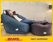 Adult bean bag chair cover, Large Bean bag chair, Large Pouf, Adult lounge chair, Large Bean bag, Floor pillow cushion, Teen bean bag cover