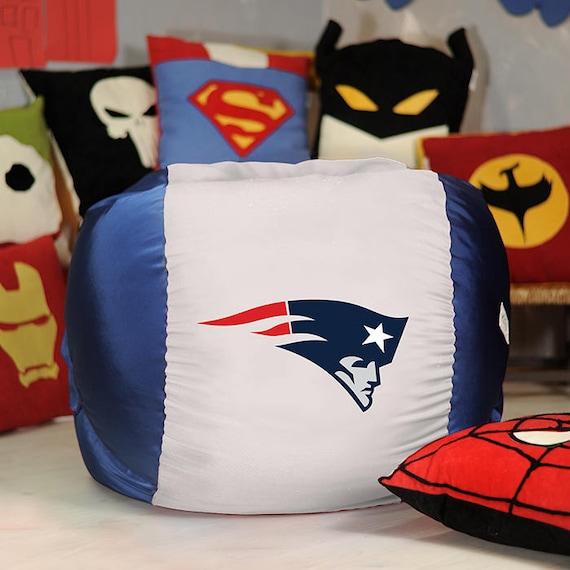 New England Patriots Bean Bag Cover Nfl Bean Bag Super Bowl Etsy