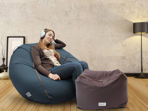 Stupendous Adult Bean Bag Chair Cover Large Bean Bag Chair Large Pouf Adult Lounge Chair Large Bean Bag Floor Pillow Cushion Teen Bean Bag Cover Unemploymentrelief Wooden Chair Designs For Living Room Unemploymentrelieforg
