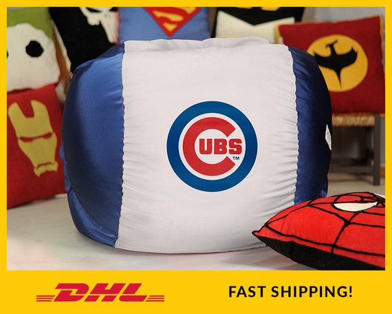 Remarkable Chicago Cubs Bean Bag Chair Cover Mlb Bean Bag Baseball Beanbag Chair Baseball 2019 Cowboys T Sport T Major League Baseball Pabps2019 Chair Design Images Pabps2019Com