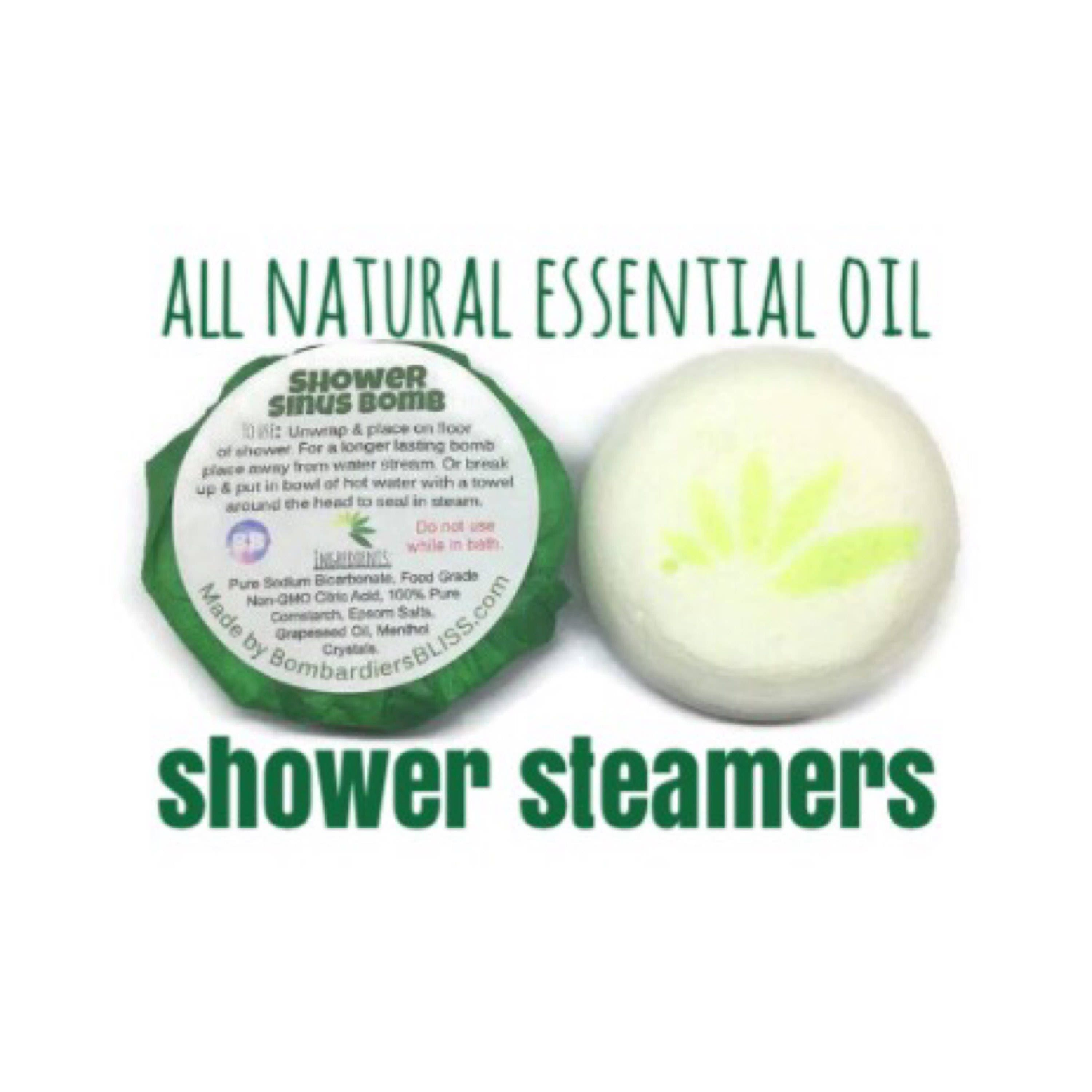 Shower Sinus Bomb Made with Menthol Crystals Shower
