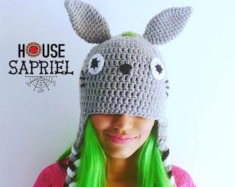 FREE SHIPPING!!! totoro hat ,hat totoro,totoro kawaii,totoro crochet,hat crochet totoro,totoro cute