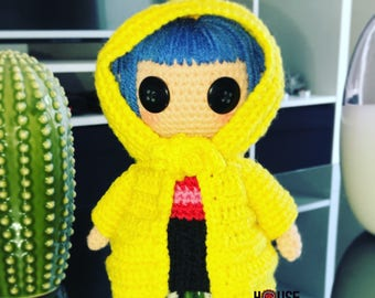 FREE SHIPPING !!! Coraline is at home