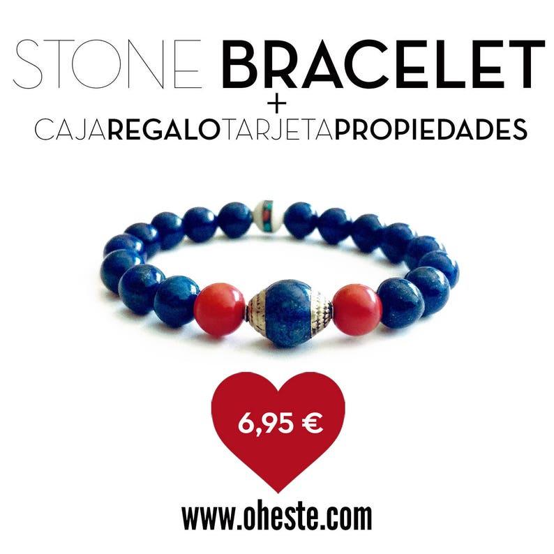 Bracelet Blue Velvet