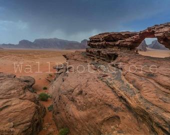 Before Sand Storm, Jordan Photography, Middle East Art, Jordan Wall Art, Landscape Photography, Mountain Photography, Fine Art Photography,
