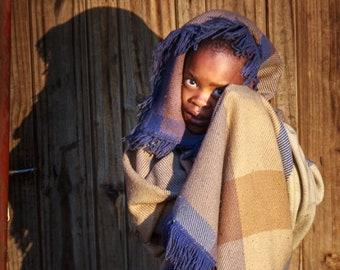 African Photography, Basotho Girl Photo, Lesotho Photography, South Africa, People Photography, African Girl Photo, Vertical Wall Art Prints
